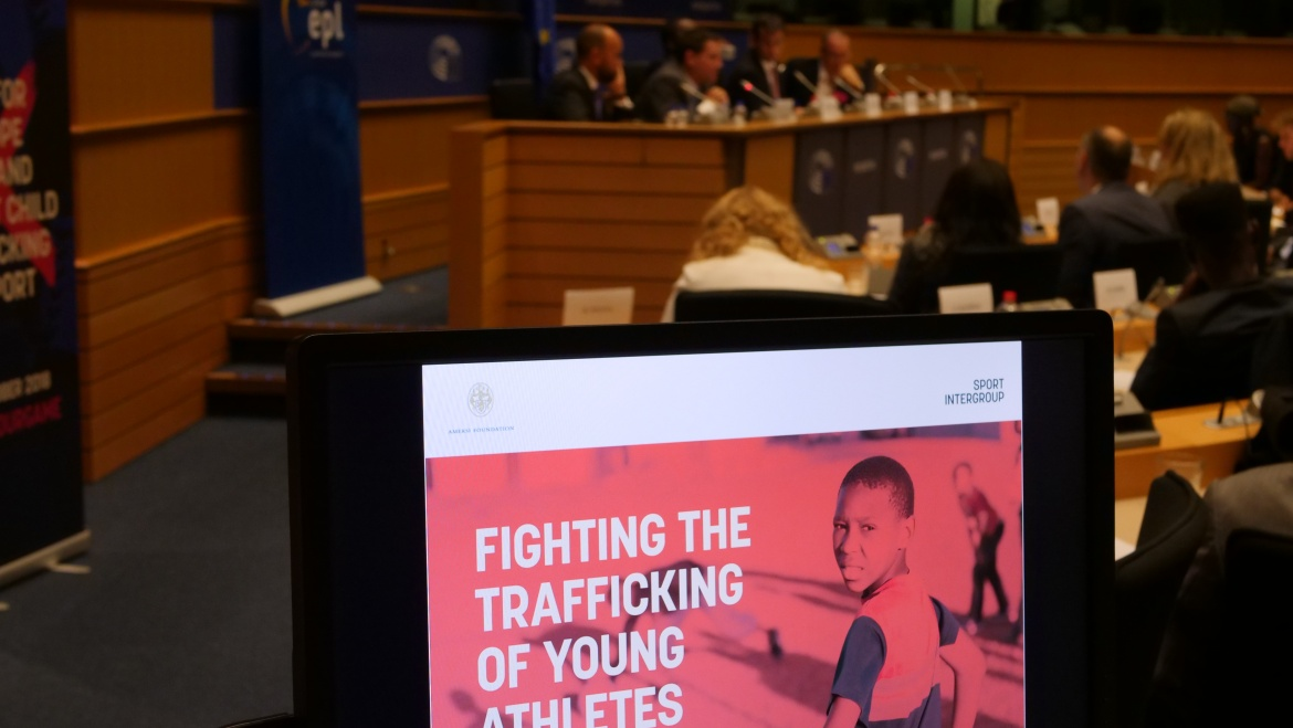 Brussels meeting receives pledge to place trafficking in sport on the EU political agenda