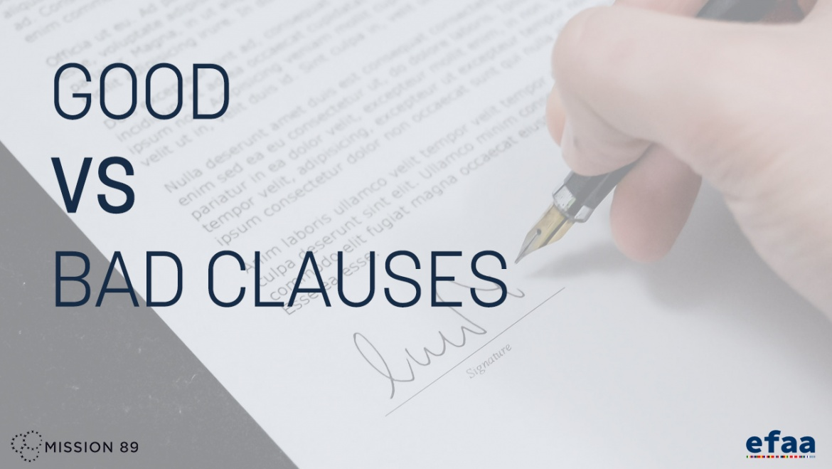 Good and Bad Clauses in a Football Contract